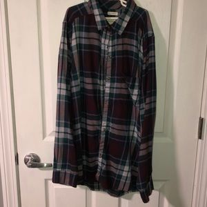 american eagle flannel perfect condition worn 2x